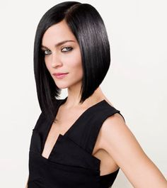 Concave bob tapered