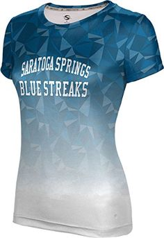 ProSphere Womens Saratoga Springs High School Maya Tech Tee XLarge *** Read more  at the image link.