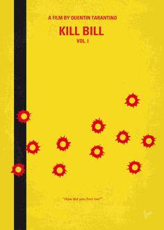 My Kill Bill - Part 1 minimal movie poster Art Print