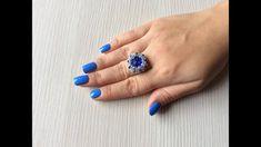 Diy Beaded Rings, Beaded Jewelry, Handmade Rings, Handmade Jewelry, Enchanted Jewelry, Ring Tutorial, Beads And Wire, Jewelry Trends, Diamond Rings