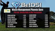 The Waste Management Phoenix Open Odds Golf Picks, Jason Dufner, Golf Events, Golf Betting, Brooks Koepka, Justin Thomas, Rickie Fowler, Dustin Johnson, Golf Pga