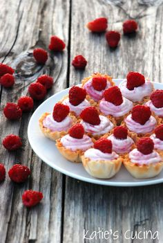 White Chocolate Raspberry Mousse - Katie's Cucina
