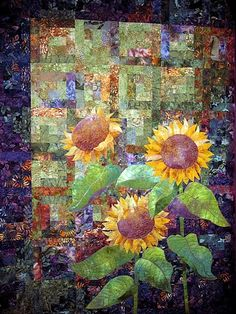 Sunflowers - OMG!  Beautiful!