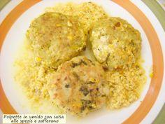 Polpette+in+umido+con+salsa+alle+spezie+e+zafferano