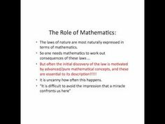 Part 4 - A talk by Professor Jon Keating FRS (University of Bristol) on the unreasonable effectiveness of mathematics in the natural sciences.