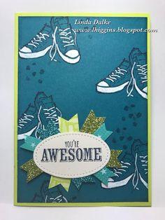 Sneak Peek at SAB 2018: Epic Celebrations stamp set for Teenager cards
