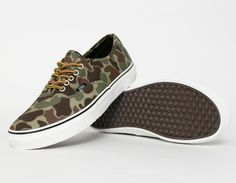 #Vans Authentic Camouflage