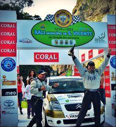 Conseguir a vitória - Rali Município de São Vicente no Coração de Laurissilva #Rally #CervejaCORAL