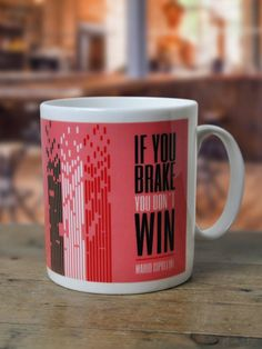 Cipollini Cycling Quote Mug