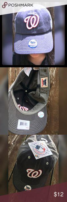 Washington Nationals Fan Favorite cap One size fits all. Fan Favorite Washington Nationals cap. Fan Favorite Accessories Hats