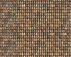 Textures Texture seamless | Old clay roofing texture seamless 03405 | Textures - ARCHITECTURE - ROOFINGS - Clay roofs | Sketchuptexture