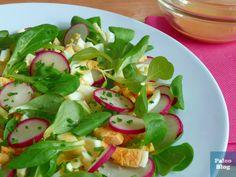 Vaječný salát s ředkvičkami / egg and radish salad