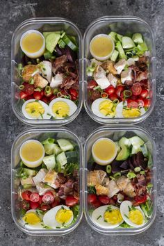 Healthy Meals 17 Healthy Make Ahead Work Lunch Ideas - Carmy - Run Eat Travel - Are you looking to mix up your lunch meal prep? Check out these 17 healthy make ahead work lunch ideas that you can make for work this week! Lunch Recipes, Diet Recipes, Healthy Recipes, Cheap Recipes, Paleo Food, Raw Food, Paleo Diet, Veggie Food, Healthy Nutrition