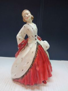 Royal Doulton Figurine The Ermine Coat by JewelryanotherStuff