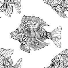 So many different fish in the sea! Color this fish everywhere coloring page and find your own happiness. You can simultaneously unwind and fall in love with these adult coloring pages, all of free!
