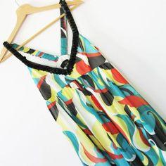 Sukienka z ozdobnymi ramiączkami Asos r.38