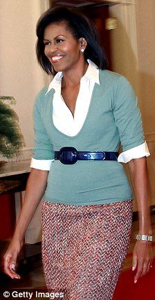 FLOTUS looking lovely ~ a look any woman can wear to work!