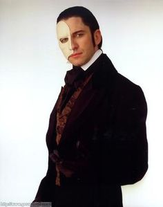 Gerard Butler as Phantom of the Opera. Such a versatile actor!