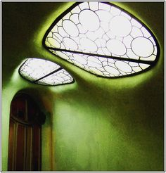 Organic Style Inspired by Nature ~ One of the characteristics of the interior of Gaudi's buildings is the daylight.
