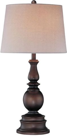 Breyon Table Lamp Dark Bronze