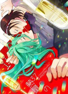 Toudou Jinpachi x Makishima Yuusuke Yowamushi No Pedal, Fanart, Girls In Love, Shoujo, Otaku, Anime, Joker, Kawaii, Manga