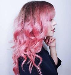 LimeCrimeCosmetics Unicorn Hair Dye; @emelieaxelson's Sugary Sweet New 'Do using #UnicornHair in BUBBLEGUM ROSE .