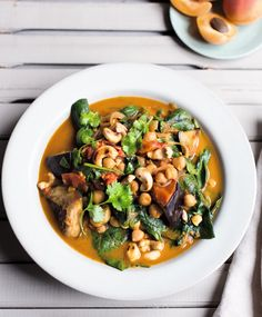 Eggplant and Chickpea Curry from Amelia Freer