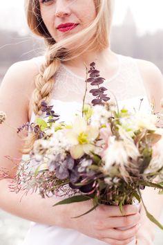 Rustic Wedding Bouquet Paris