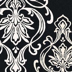 Surya Modern Classics Rug, Black/White  #modish #black #white