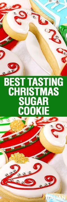 Christmas sugar cookies (also known as cut out cookies) are a family tradition. This perfectly developed dough stays put and tastes amazing!. A sweet cookie that is slightly crispy on the edges and soft and chewy throughout with the fabulous flavors of vanilla and almond. Not to mention, aren't they the prettiest cookies you have ever seen?