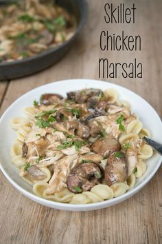 Skillet Chicken Marsala – New 31 Days of Rotisserie Chicken Recipe | 5DollarDinners.com