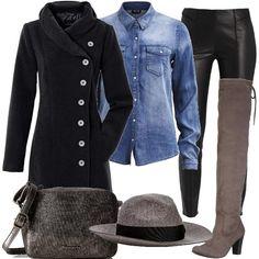 Cuissardes mon amour  outfit donna Trendy per tutti i giorni  bf6e80365ae