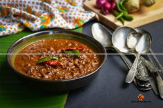 Kerala special Roasted Coconut Ginger Curry, Kerala Inji Curry