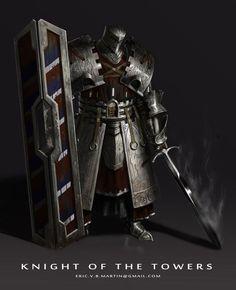 Heavy knight. Not my art.