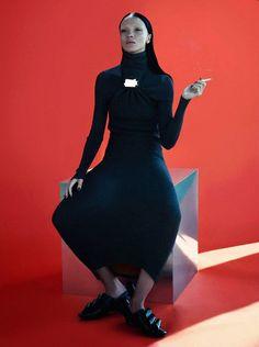 Mariacarla Boscono by Mert & Marcus for Vogue Paris November 2014