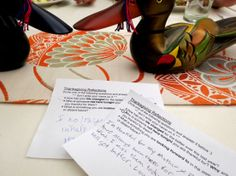 Thanksgiving Dinner Table Game Idea