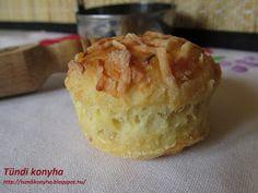 Tündi konyha: Omlós sajtós pogácsa Salty Foods, Salty Snacks, Apple Pie, Muffin, Pudding, Breakfast, Morning Coffee, Savory Snacks, Custard Pudding