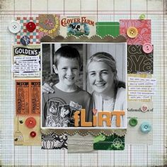 Scrapbook pages by leanne