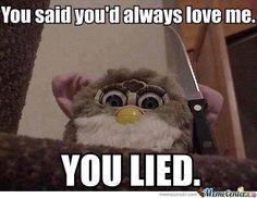 Do you remember Furbies? Meme | Slapcaption.com