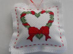 Christmas tree ornament cross stitch Christmas by SewDownHome, $10.00