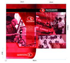 Carpeta empresarial para Tractocardanes -fotografía para diseño.