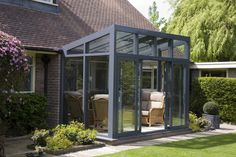 reverse lean to conservatory - Google Search