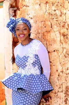 Design Of Latest Shweshwe 2019 Dresses Trends - Fashionre