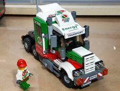 Lego Technic Truck, Lego Truck, Legos, Nave Lego, Lego Village, Toy Model Cars, Lego Furniture, Lego Creative, Lego Kits