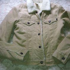Abercrombe & Fitch Corduroy Jacket Like new!   Tan corduroy jacket Abercrombie & Fitch Jackets & Coats