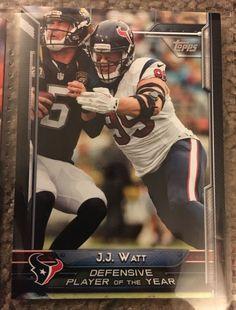 2015 Topps J J Watt 301 Houston Texans Near Mint Condition Combined s H | eBay