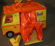 Barbie Camper - Had this as a child....must have been a foreshadowing of things to come....