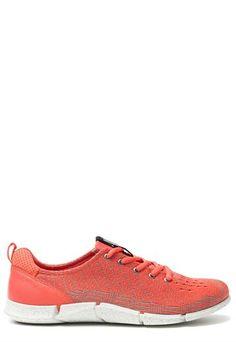 Ecco Sneaker Rood | Ziengs.nl