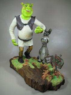Shrek e o Burrinho - by www.devienne.com.br