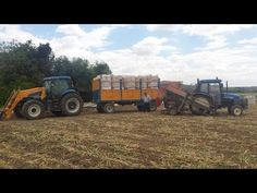 New Holland Tn 55 + J.J. Broch y New Holland Tsa 125 + Ferca + Tenías// Ajos…